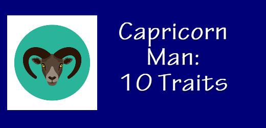 About capricorn man personality