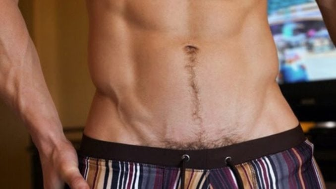 best way to shave genital area male
