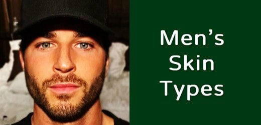 men skin types and moisturizers