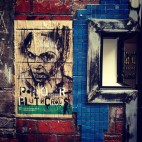 Pasted up in Melbourne...