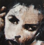 """because I'm worth Jack"", oil on canvas, 40 x 40cm"