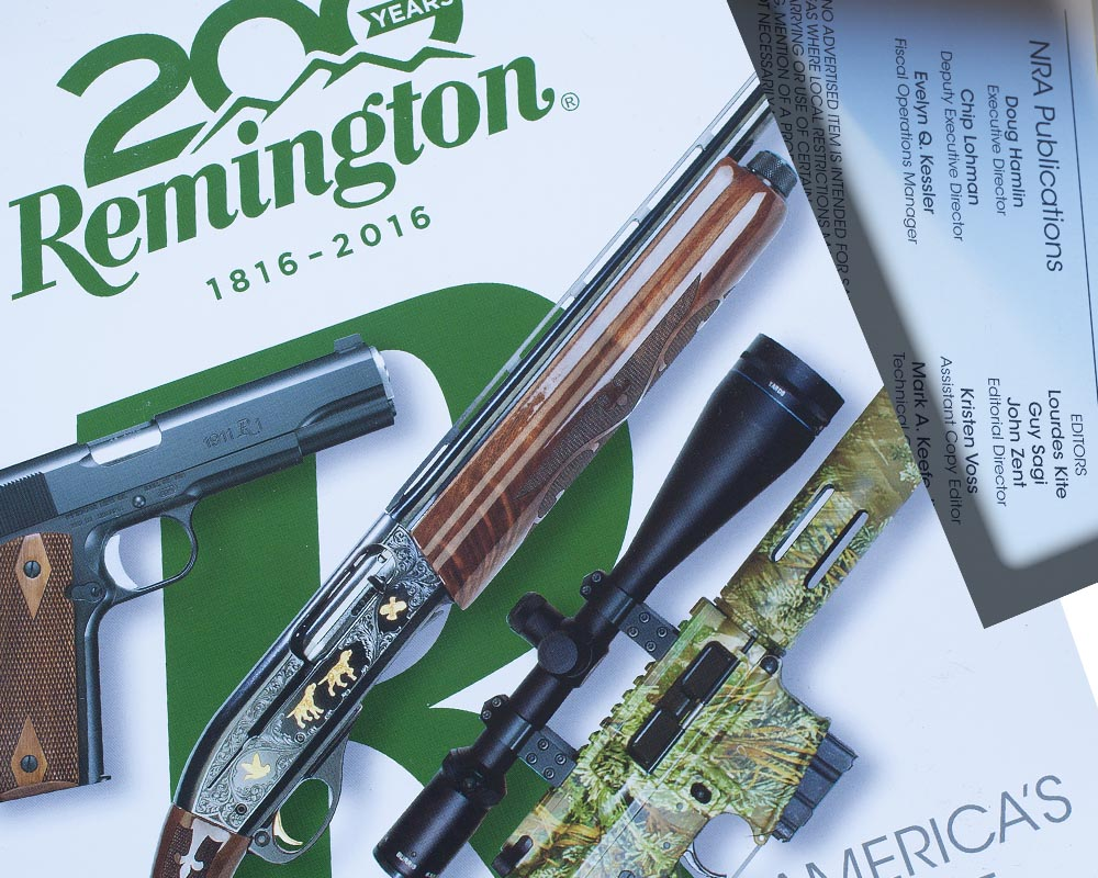 Remington, Remington firearms, Remington Guns, NRA, National Rifle Association, Guy Sagi, Guy J. Sagi