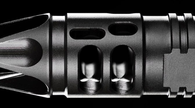 Rim Lighting a Mission First Tactical Compensator