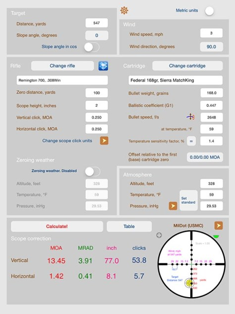 Strelok ballistic calculator, gun apps for that, Guy Sagi, Fear and Loading
