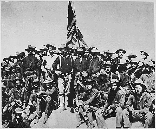 Teddy Roosevelt, San Juan Hill, history of Winchester, Guy Sagi, Fear & Loading, Raeford NC