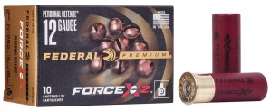 Federal Ammunition Introduces New Force X2 Personal Defense Shotgun Loads