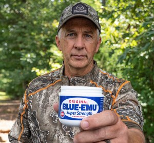Blue-Emu is the Official Pain Relief Cream of Real Tree