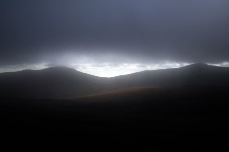 Wicklow Mountains from Military Road