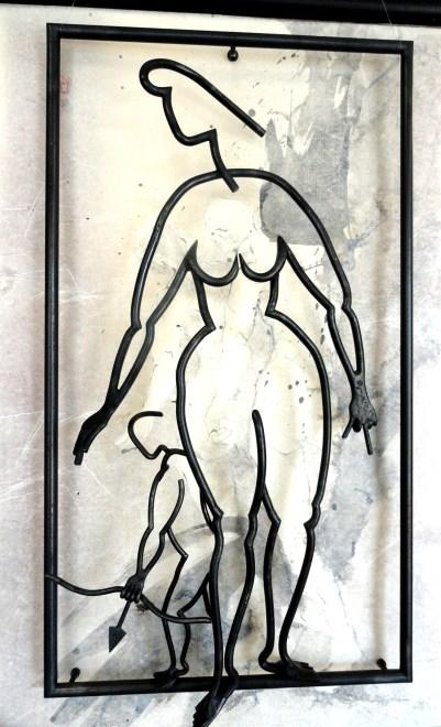 Kakemono Hauts-Reliefs - Guy Mallard