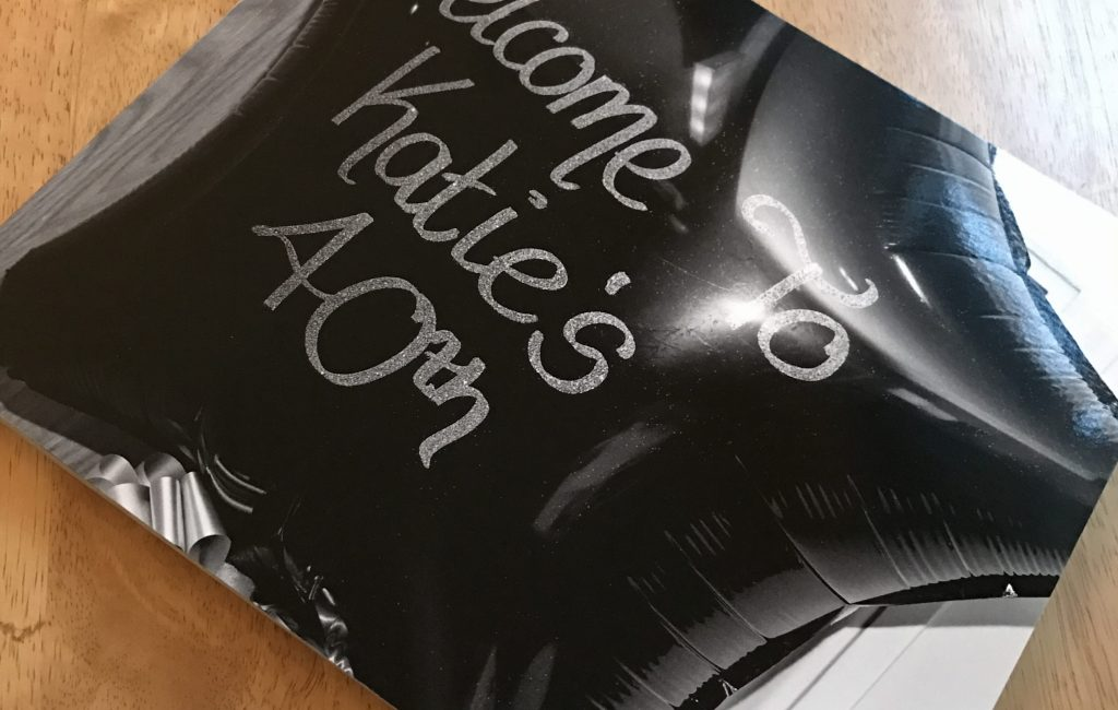 Katie's 40th Birthday – Photobook