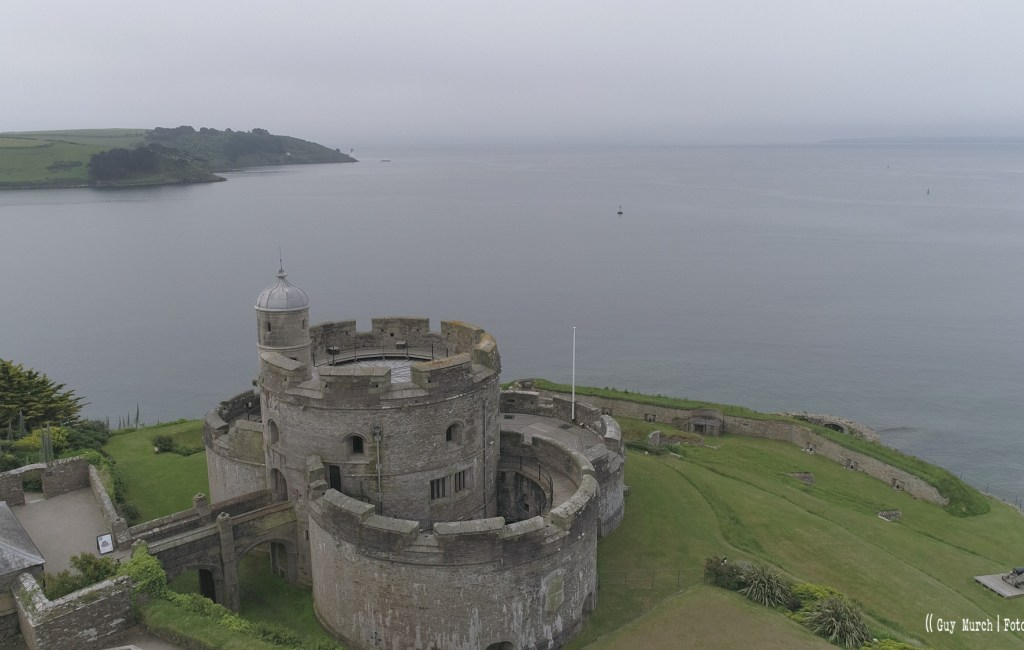 Raw Drone footage from St Mawes, Cornwall, UK.