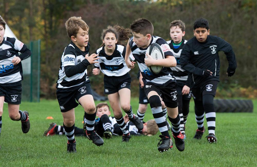 Veseyans Mini & Junior Rugby 29th October 2017