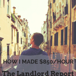 The Landlord Report – August of 2018