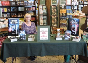 Signing Table at Barnes & Noble