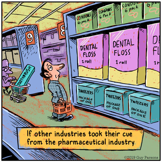 Bad Pharma cartoon
