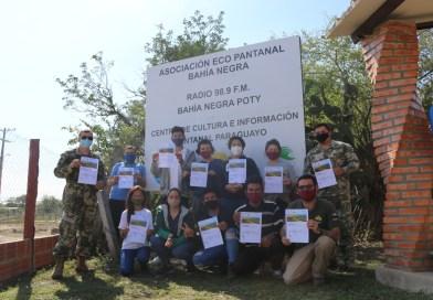 Capacitación en monitoreo de amenazas en el Pantanal a través de la tecnología SMART