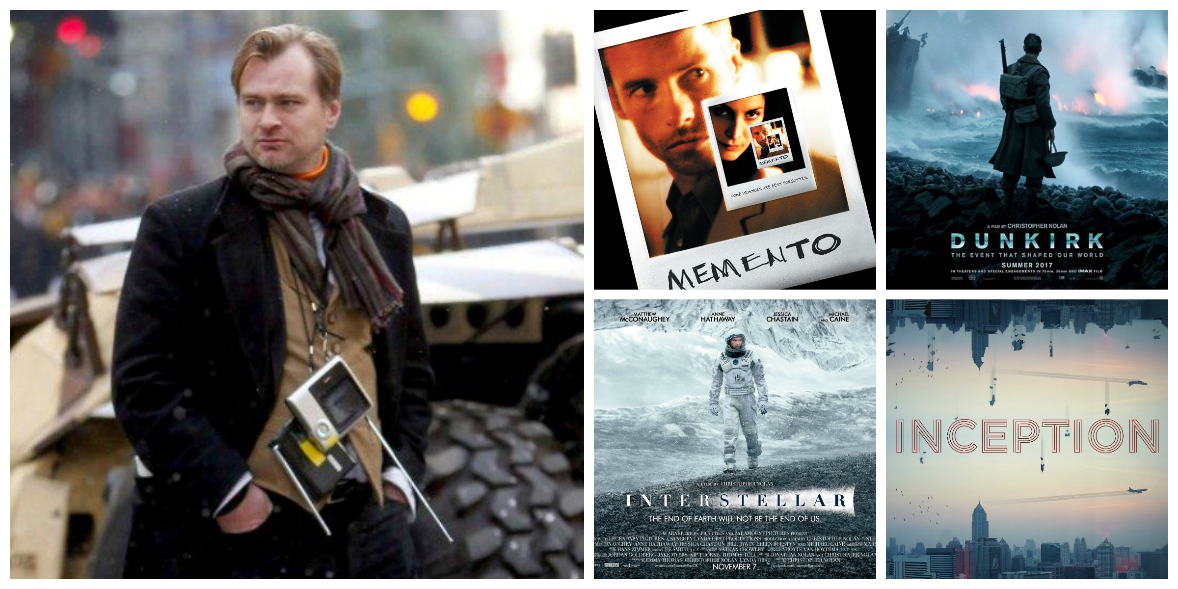 Top Ten Christopher Nolan Films