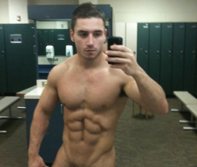 Locker Room Naked Straight Man