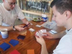 Playing Audatia with Joonas Laakso.