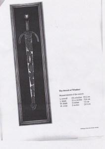 Sword of Windsor provenance 2