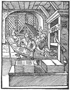 Printing in Meyer's day.