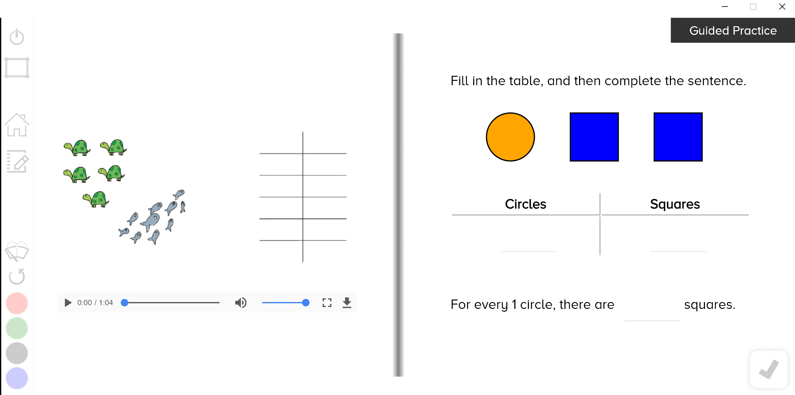 Ratio Tables Guzinta Math