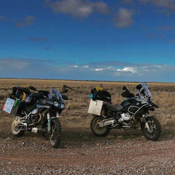 Moto Guzzi Stelvio NTX, no country too big. #motoguzzi #guzziraceraus #motoguzzistelvio #outbackaustralia