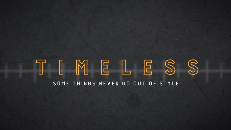 Timeless: Kindness