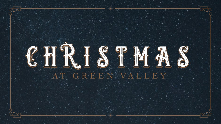 Christmas at GV: Candy Canes and Comfort