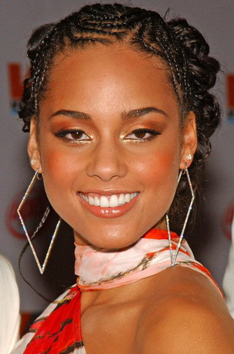 Alicia Keys Hairstyles Braids