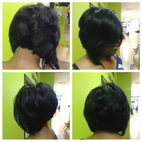 black quick weave hairstyles