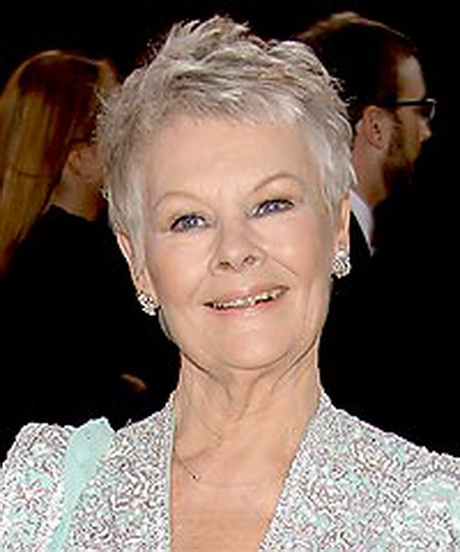 Judi Dench Hairstyle