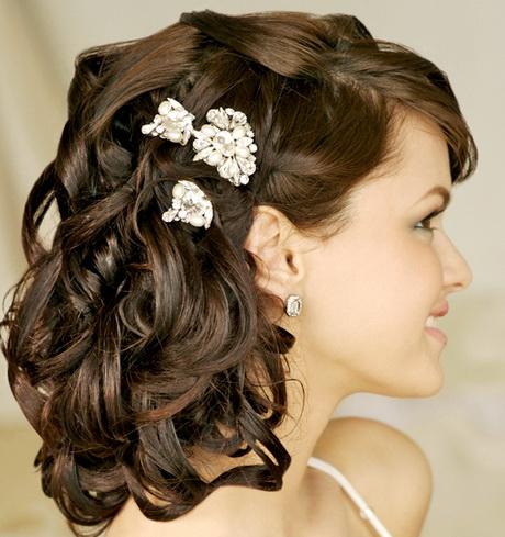 medium length hairstyles wedding