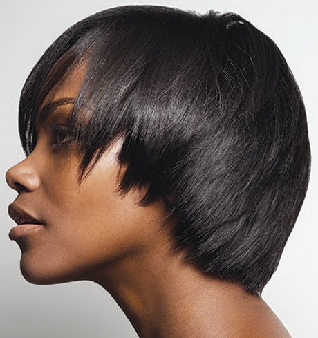 short hair weave styles