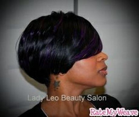 short weave black hairstyles