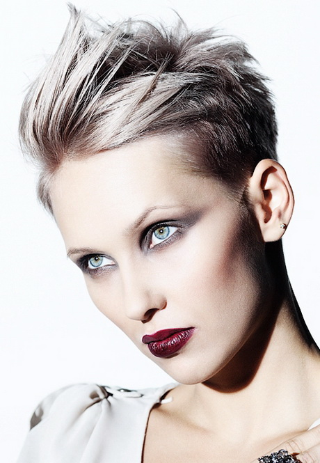 Super Short Hairstyles Women
