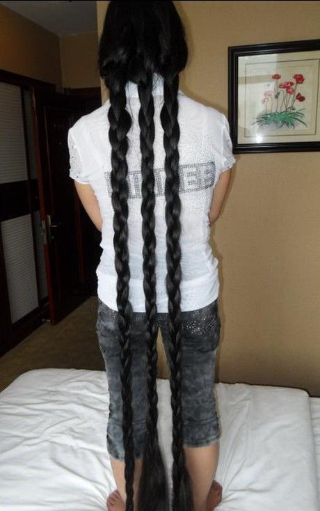 Very Long Hair Cut