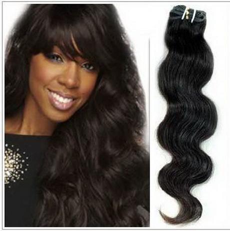 wavy weave black hairstyles