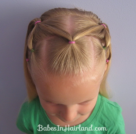 Hairstyles Using Rubber Bands