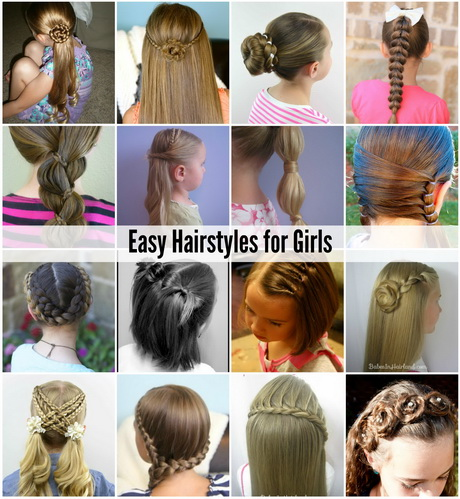 Hairstyles Easy For Girls