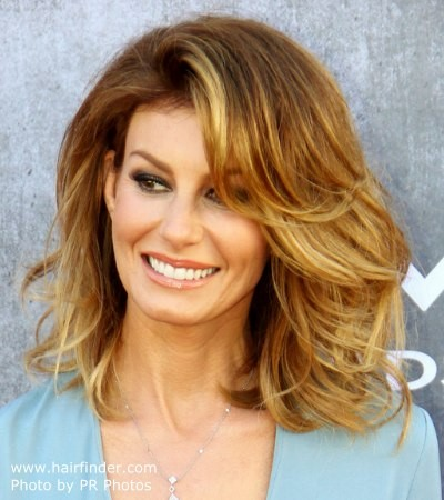 Full Medium Length Hairstyles