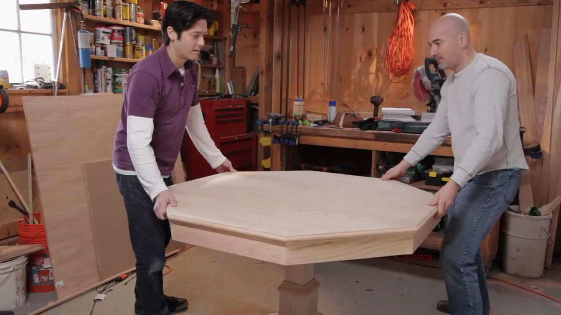 how to build a poker table in 18 steps