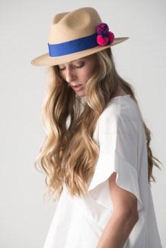 Pompom Hat Blue II