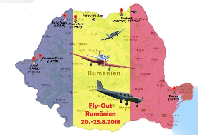 Grand Fly-out Romania 2018 - AOPA CH