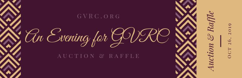 An Evening for GVRC fundraiser