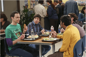 "Catch ""The Big Bang Theory"" on CBS, Thursdays at 8 p.m."