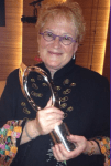 Deanna Morse with her Eclipse Award.