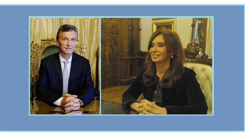 Cristina Fernández de Kirchner, Cristina, CFK,Mauricio Macri,