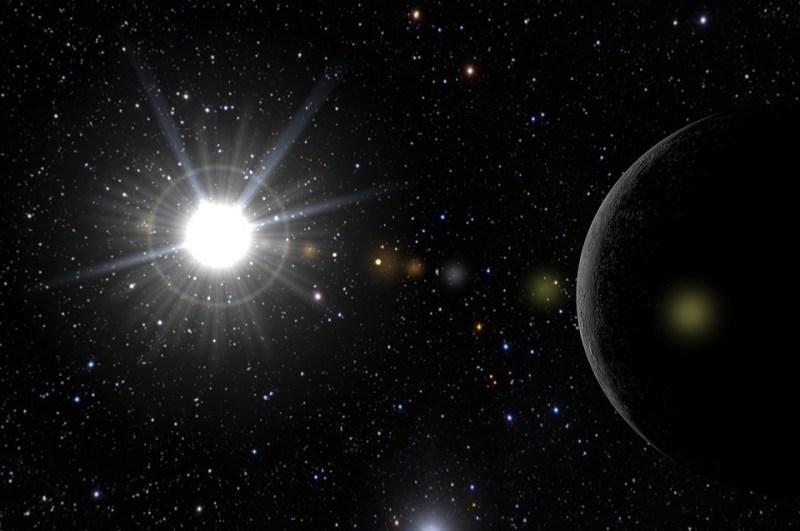 espacio, universo, Planeta X, cosmos,