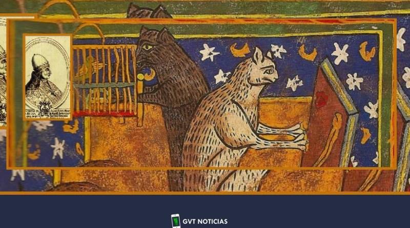 """el Papa Gregorio IX, los """"gatos de lucifer"""" y una peste que costo 100 millones de vidas"""